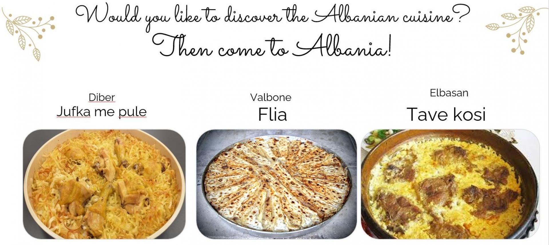 albanian dishes